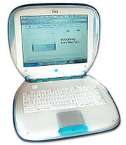Clamshell iBook Blueberry (1.Generation)