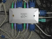 4-fach-KVM-Switch